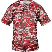 Digital Camo Youth Placket Jersey