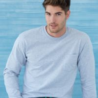 Ultra Cotton Long Sleeve T-Shirt with a Pocket Thumbnail