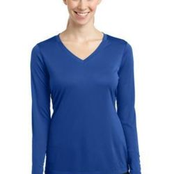 Ladies Long Sleeve V Neck Competitor™ Tee Thumbnail