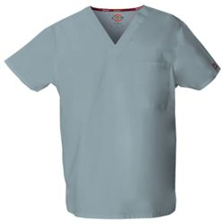 Dickies Unisex V-Neck Scrub Top Thumbnail