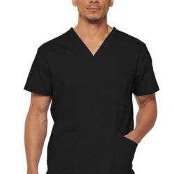 Dickie's Men's V-neck Scrub Top Thumbnail