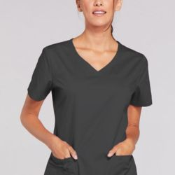 Ladies V-Neck Scrub Top Thumbnail