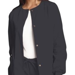 Women's Snap Front Warm-up Jacket Thumbnail