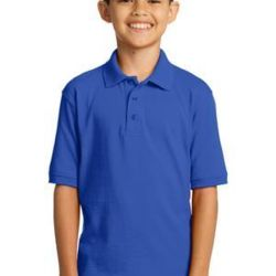 Youth 5.5 Ounce Jersey Knit Polo Thumbnail